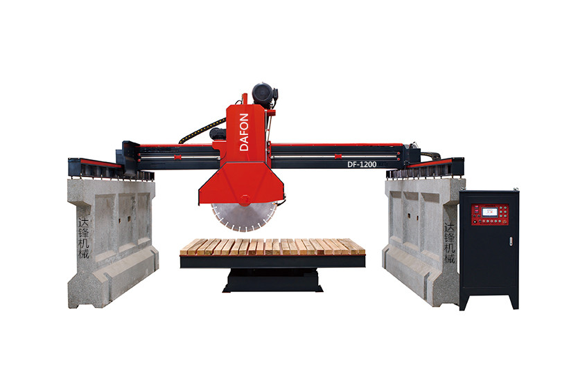红外线桥式中型切石机